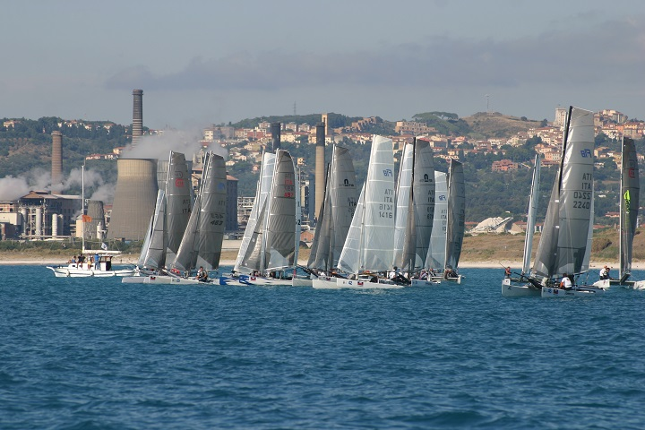 Regata catamarani
